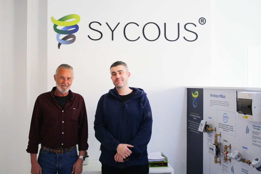Ingvar Ahlberg and Richard Scott-Noble at Sycous HQ